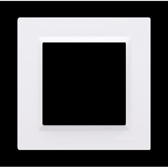 Rámček 1-násobný biela CR1/11