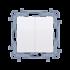 spínač CW6/2.01/X/11 biely dvojitý, radenie č. 6+6