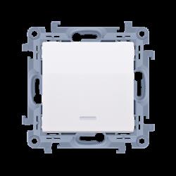 spínač CW6L.01/X/11 s orientačným podsvietením LED, radenie č. 6 So bez piktogramu