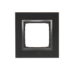 DRN1/73  Rámček 1 - násobný sklenený lávová/antracit
